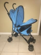 "Pet Gear Blue Travel Lote Pet Stroller 16"" X 11"" X 21"" for pets up to 15 lb"