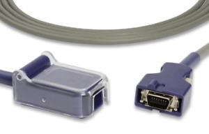 Nellcor>Covidien DOC-10 Spo2 Adapter Cable Compatible - Same Day Shipping