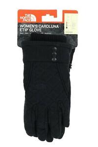 The North Face 166604 Womens Caroluna Etip Sport Gloves TNF Black Size Large
