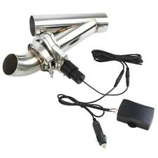 51mm 2'' Valve Echappement Électrique Télécommande Downpipe Cut Out Système