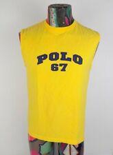 VTG 90s Polo Sport Ralph Lauren 67 sleeveless muscle shirt Tank Top Sz M