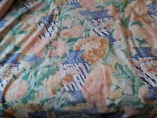 Pr Vintage Cotton Lined Dress Curtains Kaffe Fassett Designers Guild Flowerpots