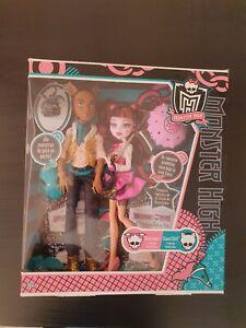 Monster High Draculaura Clawd Wolf  First Wave 2011 Mattel