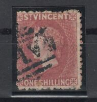 C2921/ BRITISH ST VINCENT – VICTORIA – SG # 17 USED – CV 170 $