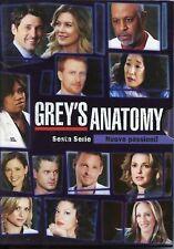 COFANETTO 6 DVD GREY'S ANATOMY SESTA SERIE