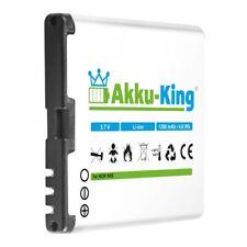 Akku-King Akku für Nokia C7-00 X7-00 701 N85 N86 8MP Oro ersetzt BL-5K