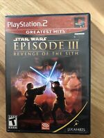 Star Wars: Episode III: Revenge of the Sith (PLAYSATION 2) (COMPLETE)