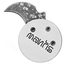 Mantis Civilianaire knife White ANGEL coin poker chip Stainless Damascus MCK-2