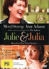 Julie & Julia DVD Meryl Streep BEST PICTURE TRUE STORY BRAND NEW Region 4