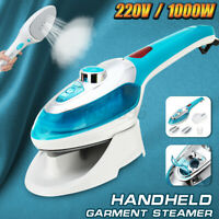 Electric Mini Portable Handheld Garment Steamers Iron Steam Machine 98°C 1000W