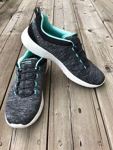 Skechers Men Blue Memory Foam Comfort Casual Soft SZ 10 Sneakers