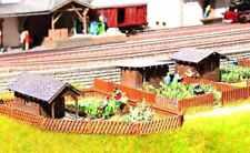 NOCH 66804 HO Laser Cut Kit of Garden plot (3 pcs.) NEW