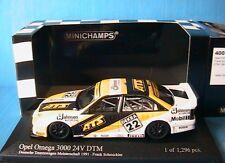 Frank Schmickler Opel Omega 3000 24v #22 DTM 1991 1 43 Minichamps