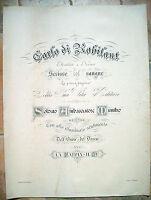 1914 GRANDE TAVOLA CON ONORE AL MUTILATO BATTAGLIA DI NOVARA CONTE DI ROBILANT