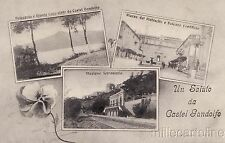 Castel Gandolfo - Tre visioni 1916