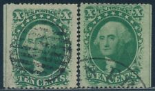 #35 (2) Different Used Left And Right Centerline Copies Bt787