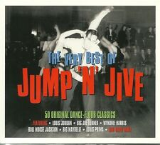 THE VERY BEST OF JUMP 'N' JIVE - 2 CD BOX SET - 50 ORIGINAL DANCE-FLOOR CLASSICS