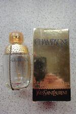 "Vintage Original YSL ""Champagne"" vacío 50ml EDT Botella Con Caja."