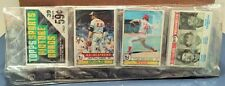 1979 Topps Baseball Unopened Rack Pack Jim Palmer Tom Seaver HOF