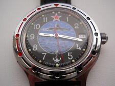 VOSTOK Komandirskie Russian Automatic Watch mechanical leather strap 921163
