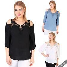 Damen-Blusen hüftlange Damenblusen, - tops & -shirts aus Viskose