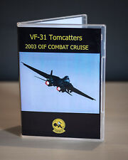 VF-31 Tomcatters F-14 Tomcat Cruise OIF 2003 DVD Video