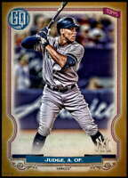 Aaron Judge 2020 Topps Gypsy Queen 5x7 Gold #50 /10 Yankees