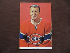 1963-64 Chex Cereal Photo Claude Provost Montreal Canadiens Hockey