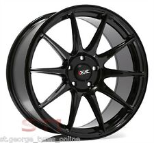 19 INCH XXR 527 GLOSS BLACK WHEELS AND TYRES XXR GENUINE RIMS FORD HOLDEN WRXGT