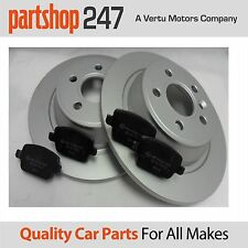 Genuine Comline Rear Brake Coated Discs and Pads Ford Galaxy MK 3 2006-2015