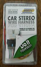 METRA IBR-WHCR CAR STEREO WIRE HARNESS - CHRYSLER/DODGE/JEEP-800eb OPEN BOX ITEM