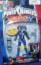 """Power Rangers SPD Light Patrol 5"""" BLUE Ranger Factory Sealed New 2004"""