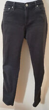 AG ADRIANO GOLDSCHMIED Charcoal Grey Skinny Jeans Trousers Pants Sz: 27R