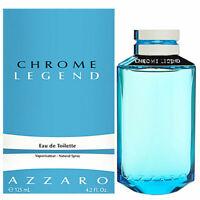 AZZARO CHROME LEGEND EAU DE TOILETTE 125ML NEUF SOUS BLISTER
