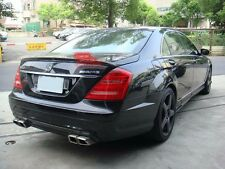 Carbon Fiber MERCEDES BENZ 07-11 W221 S class AMG type trunk spoiler @US