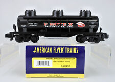 AMERICAN FLYER S SCALE 48418 PROTEX THREE DOME TANK CAR ROAD #1054