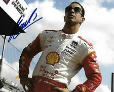 HELIO CASTRONEVES SIGNED 8X10 PHOTO INDY 500 3 TIME WINNER INDIANAPOLIS 2018 A