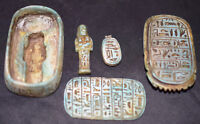 Egypt Египет Pharaoh Scarab Box Coffin With Mummy Sculpture,Scarab & palette