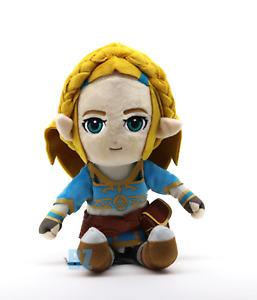 "Princess Zelda Plush 11"" Breath of the Wild The Legend of Zelda Little Buddy"
