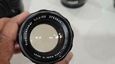 Asahi Super-Takumar 50mm f1.4 Manual Prime M42 Screw Mount Lens. Serial 3753846.