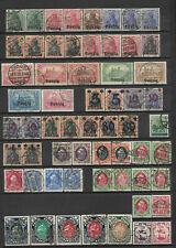 KG06 - GERMANY Deutsche Reich DANZIG stamps collection in 5 scans