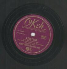 BENNY GOODMAN 1942 A ZOOT SUIT 78rpm- OKEH  #6606- JAZZ