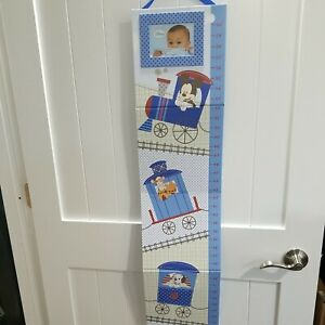Disney Photo Growth Chart Height Train Mickey Tigger Dalmation Measures up to 5'