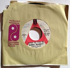 Bobby Bennett 45 Bumble Bee (Sting Me) / Days Go By  PROMO