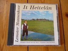 Lemster Mannenkoor - It Heitelan / ORCA MUSIC CD 1998  RAR!
