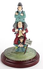 Disney Parks Haunted Mansion Stretch Painting Series Figure #2 Men in Quicksand