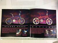 NOS 1988 Mongoose Bicycle Catalog. BMX, Freestyle, Mountain, Road