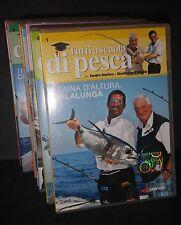 TUTTI A SCUOLA DI PESCA 7 DVD (da 1 a 7) - Snipair - Ottimi