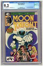Moon Knight #1 (CGC 9.2) Origin part 1; 1st app Raoul Bushman; Marvel; 1980 B235