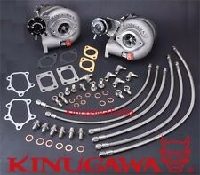 Kinugawa Billet Twin Turbo Bolt on FOR TD06SL2-20G Nissan Skyline GT-R RB26DET